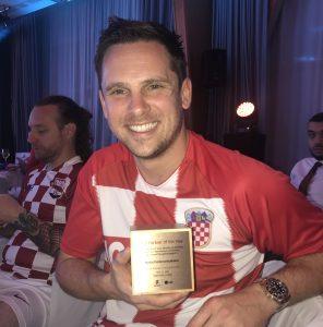 Steffan Dancy   Award